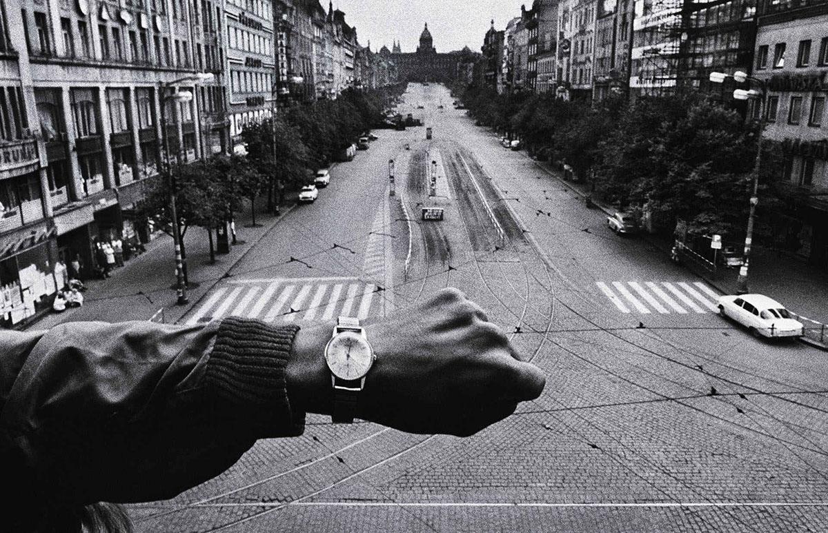 La Primavera di Praga di Josef Koudelka