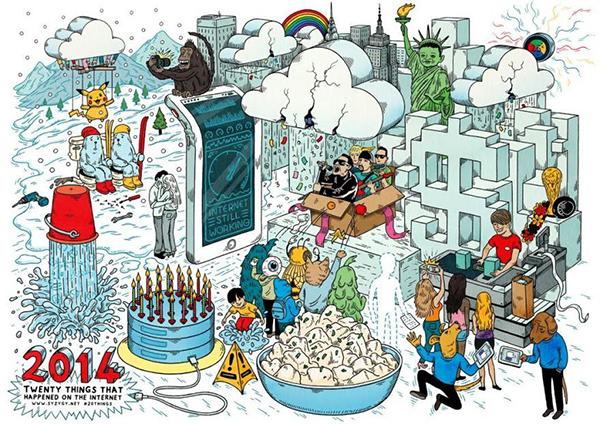 20 cose che sono successe su internet nel 2014