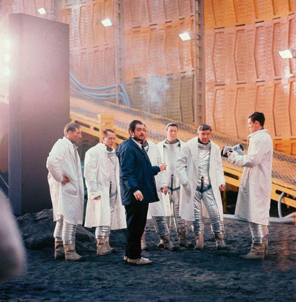 Foto del dietro le quinte di 2001: Odissea nello spazio