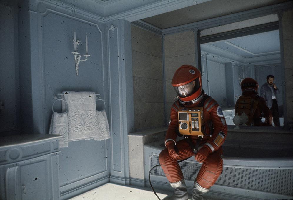 Sul set di 2001: Odissea nello spazio