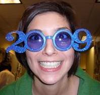 Occhiali di Capodanno