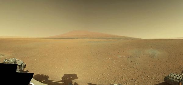Marte fotografato da Curiosity