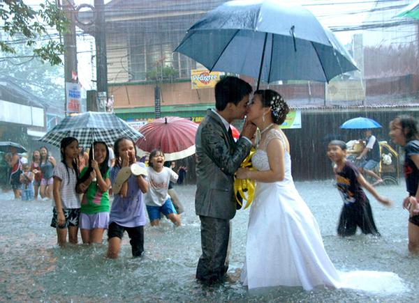 Il matrimonio sotto il monsone