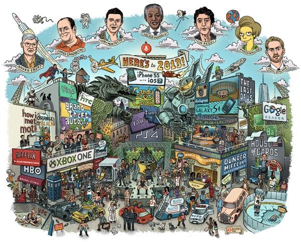 Il 2013 in un'immagine