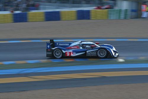 Peugeot a Le Mans