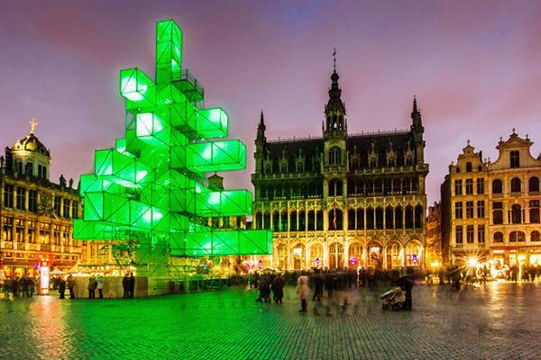 L'Albero di Natale di Bruxelles