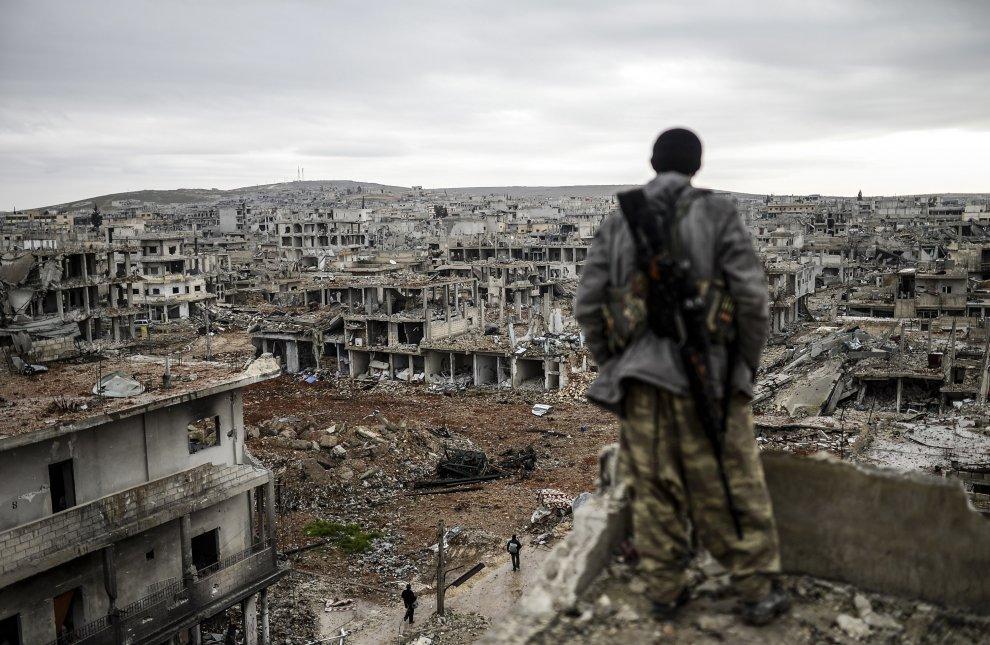 Devastazione in Siria