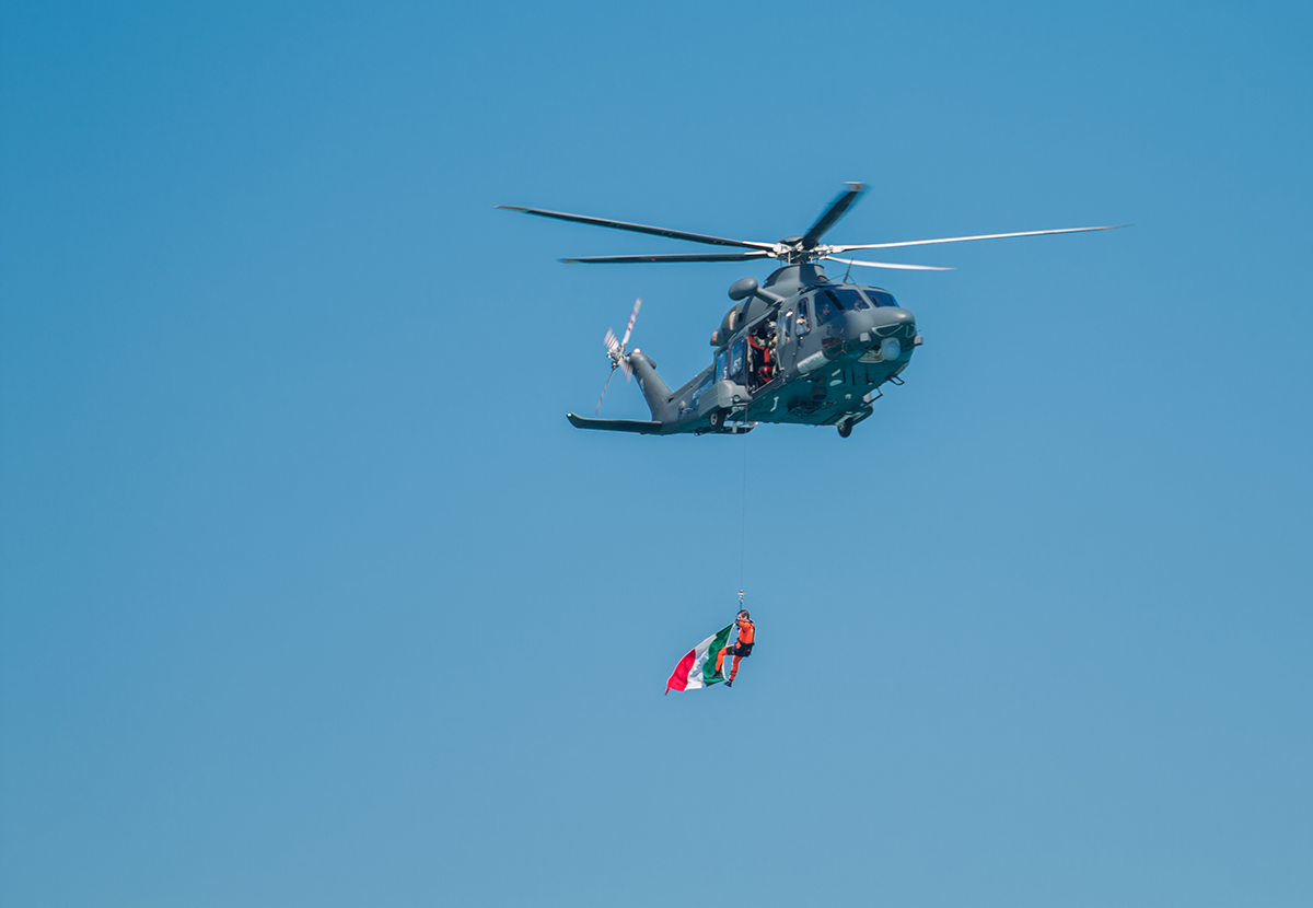 AgustaWestland HH/AW139 all'Air Show Loano 2016