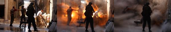 Esplosione ad Aleppo in Siria