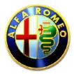 Il logo dell'Alfa Romeo