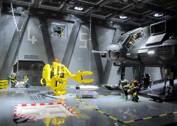 I set di Aliens - Scontro finale ricreati coi Lego
