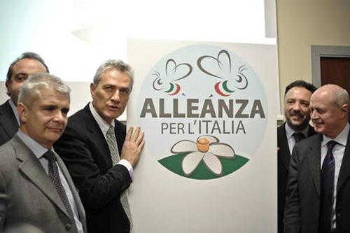Il nuovo simbolo di Alleanza per l'Italia