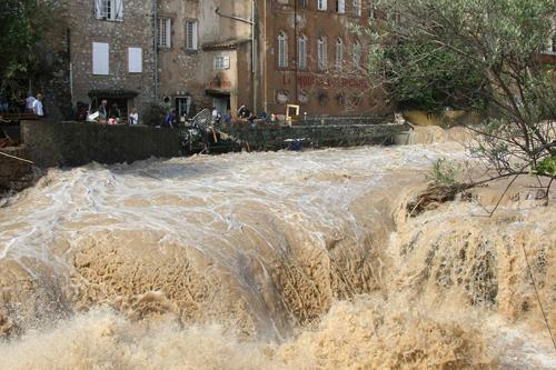 Il dipartimento francese del Var colpito duramente dal maltempo