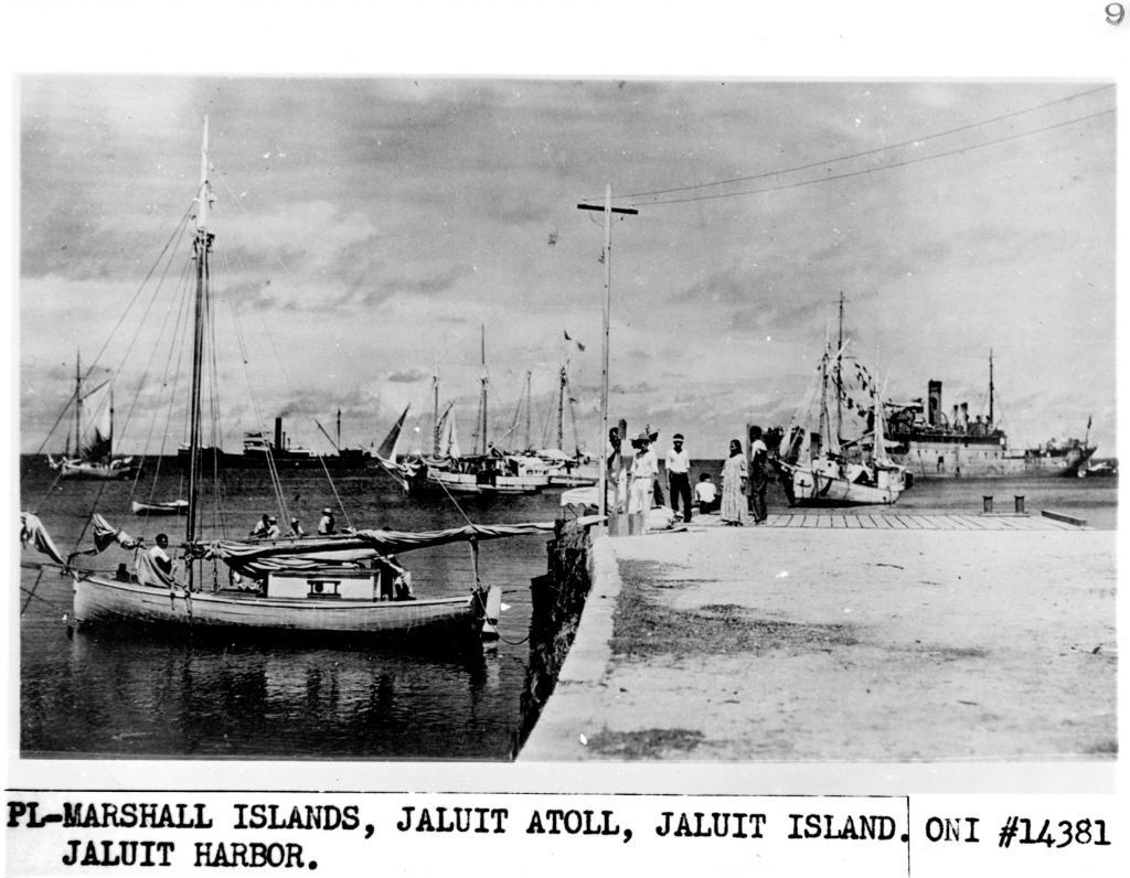 Una foto che mostrerebbe Amelia Earhart e Fred Noonan nelle isole Marshall