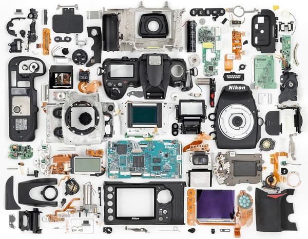 Componenti di una Nikon D700
