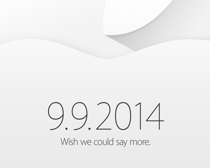 Apple Event settembre 2014