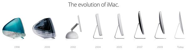 L'evoluzione degli iMac