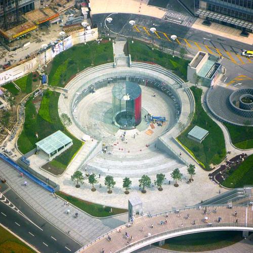 Il nuovo Apple Store di Shanghai