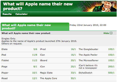 Screenshot di Paddy Power