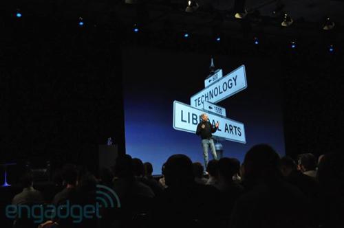Slide dal keynote di Steve Jobs al WWDC 2010