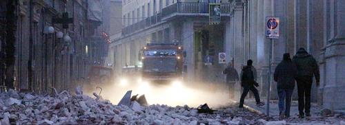 Il terremoto a L'Aquila