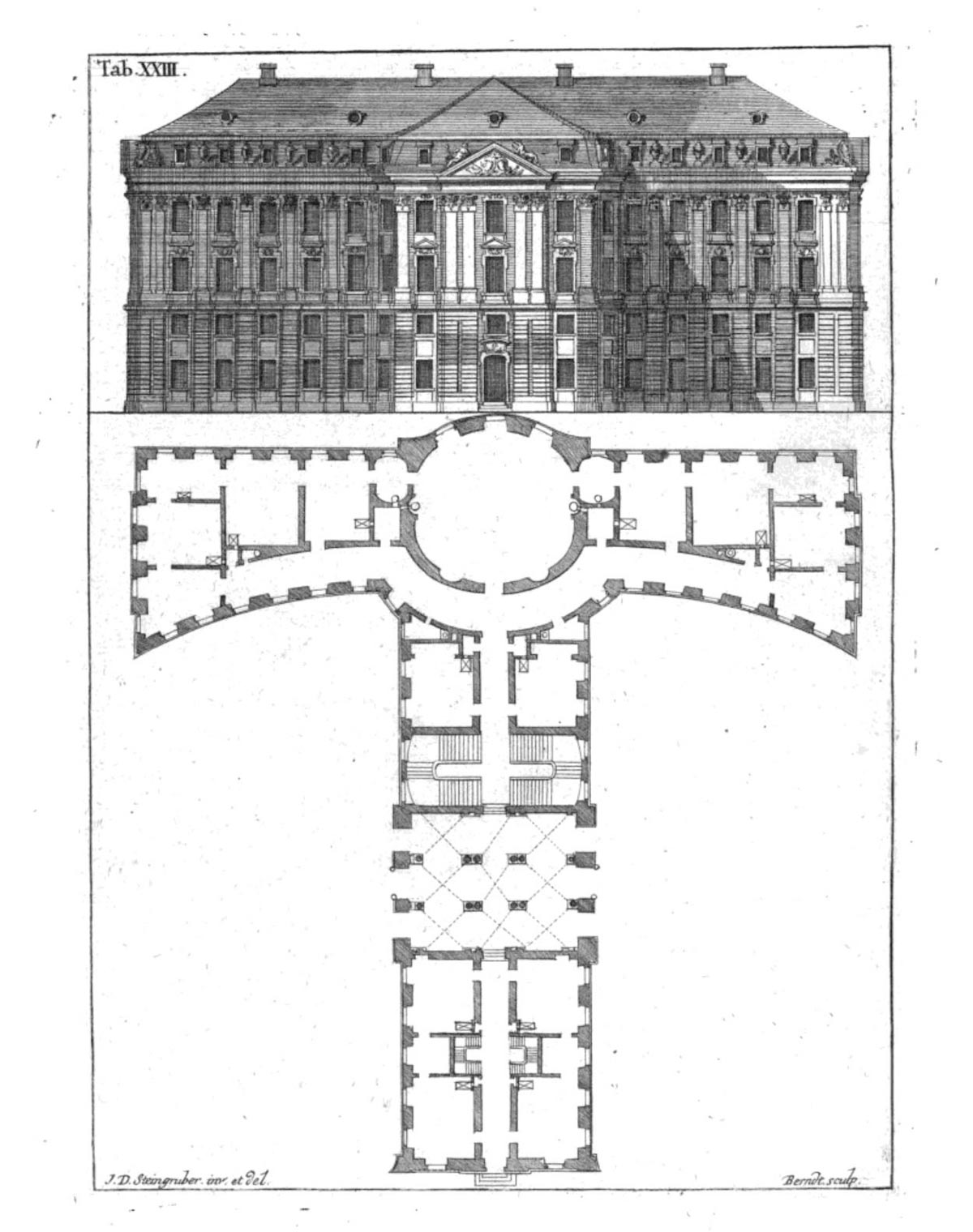 L'Architectonisches Alphabet di Johann David Steingruber