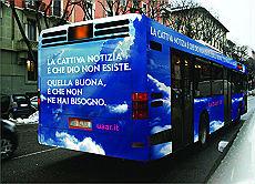 La campagna dell'UAAR a Genova