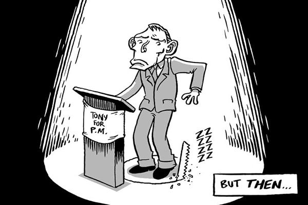 La graphic novel delle elezioni australiane 2013