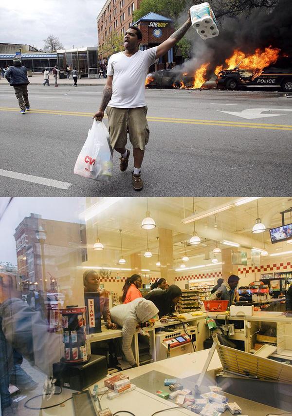 Saccheggi di afroamericani a Baltimora