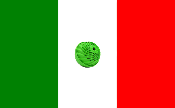 Bandiera Italia e Biowashball