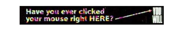 Il primo banner di internet
