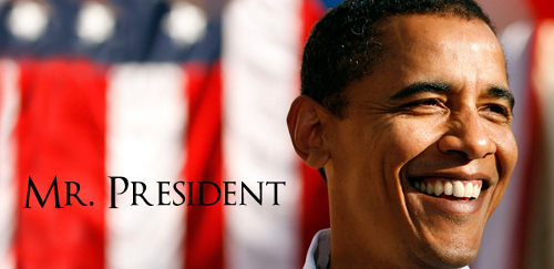 Barack Obama, president of the United States of America
