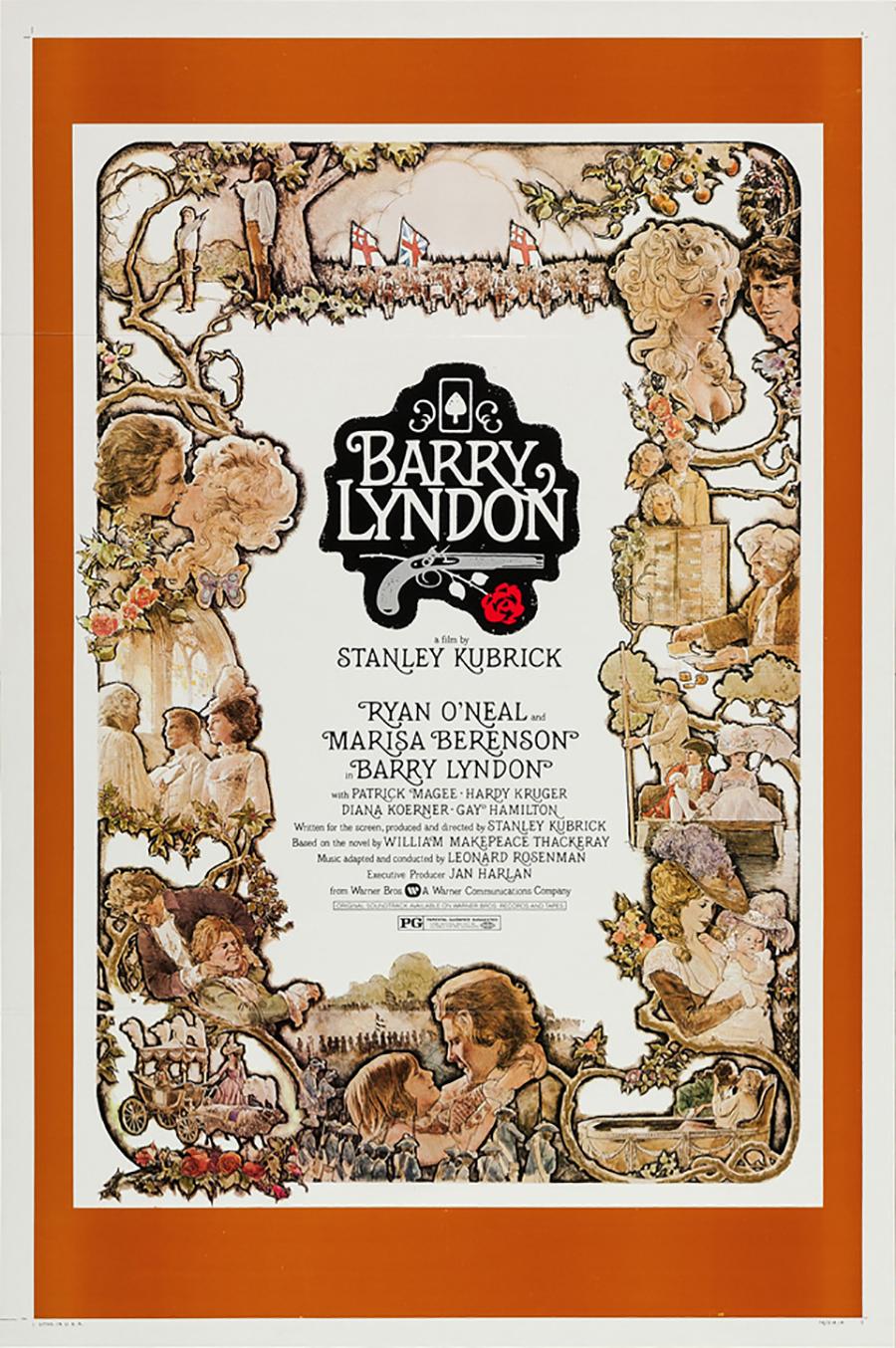 La locandina di Barry Lyndon