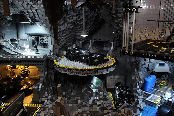 La Batcaverna di Lego