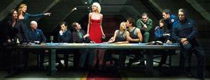 Battlestar Galactica in versione 'Ultima cena'