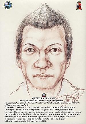 L'identikit dell'aggressore di Belpietro
