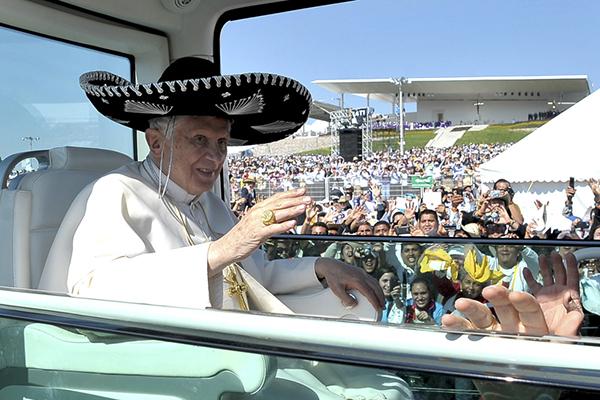 Benedetto XVI in Messico