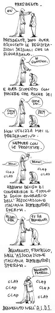 La vignetta di Gipi