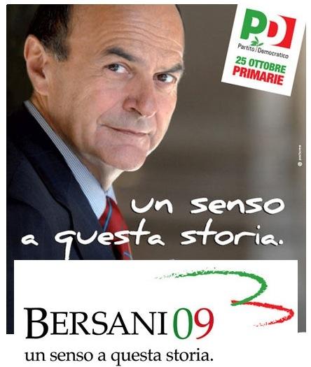 La campagna elettorale di Bersani