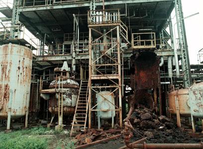 Stabilimento della Union Carbide