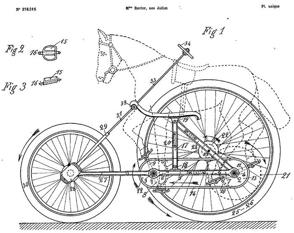 La bicicletta per animali di Madeleine Ravier