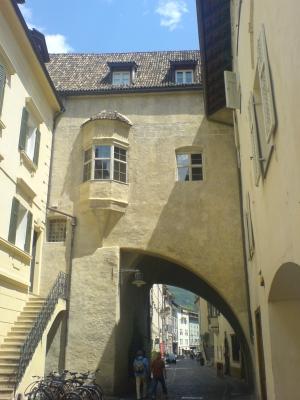 Il centro storico (Bolzano)