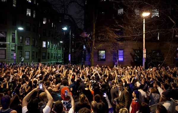 Boston festeggia la cattura dell'attentatore