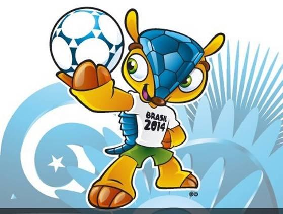 La mascotte del campionato mondiale di calcio Brasile 2014