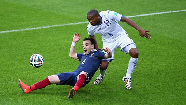 Francia-Honduras alla Coppa del Mondo 2014