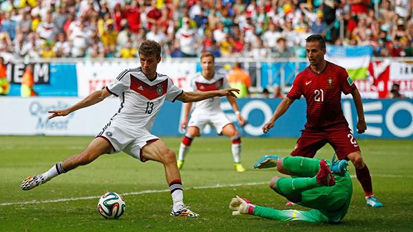 Mueller affonda il Portogallo alla Coppa del Mondo 2014