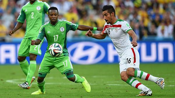 Nigeria-Iran alla Coppa del Mondo 2014