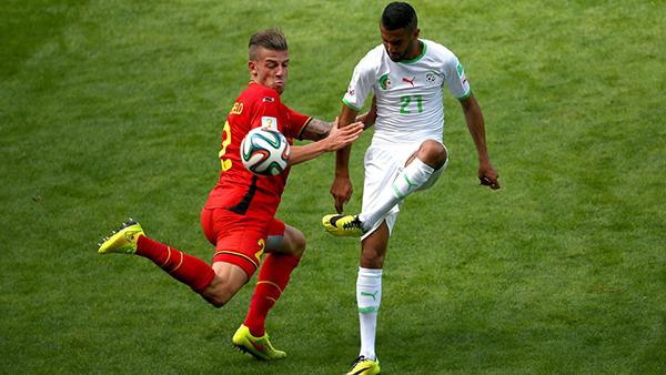 Belgio-Algeria alla Coppa del Mondo 2014