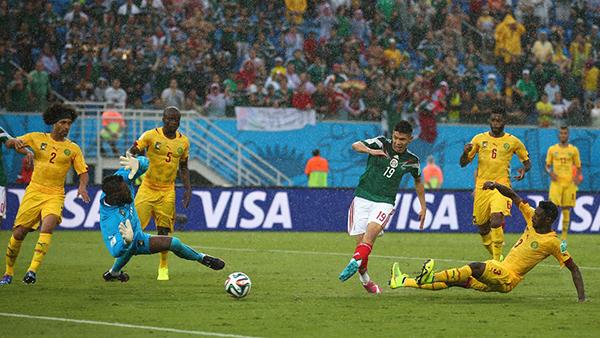 Messico-Camerun alla Coppa del Mondo 2014
