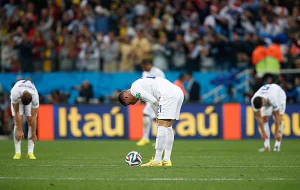 Inghilterra eliminata dalla Coppa del Mondo 2014